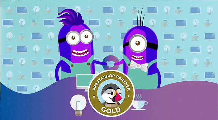 Agence Prestashop certifiée Gold - Pic Digital